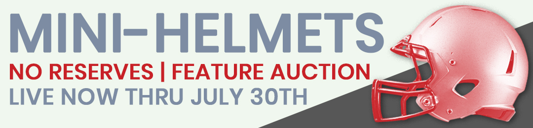 50b056165b3 Online Sports Memorabilia Auction   Pristine Auction